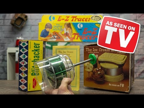40-Year-Old As Seen On TV Gizmos TESTED! download YouTube