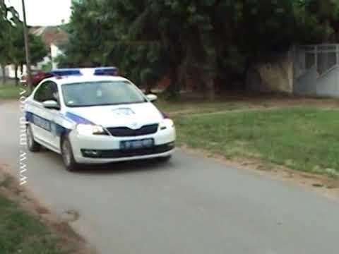 Prešao kolima policajcu preko noge