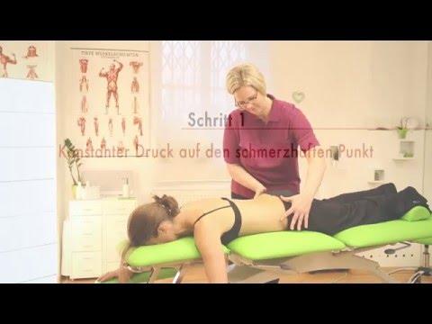 Schmerzstillend die Einstiche von die Rückenschmerz