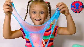 DIY Slime FACTORY! Make 10 Different Slimes with Water & SLIME Powder! Decorate!