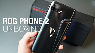 Asus ROG Phone II Unboxing and First Look!