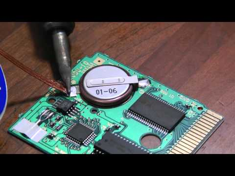 How To Replace Save Battery in Pokemon Game Boy Color Games