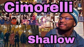 Cimorelli - Shallow (Cover) | Reaction