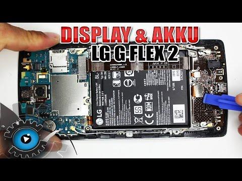 LG G Flex 2 Display & Akku Wechseln Tauschen Reparieren [Deutsch/German]