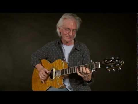 Glider Capo - Finger Picked Guitar Capo Demo