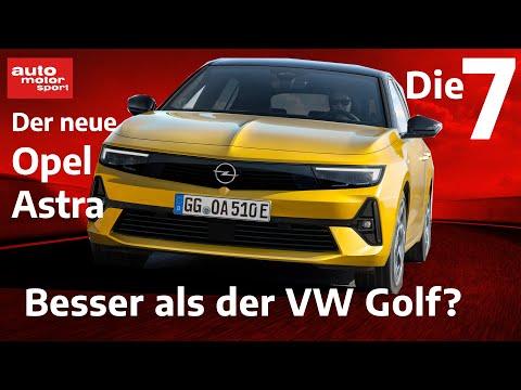 7 Fakten, zum neuen Opel Astra: Besser als der VW Golf?   auto motor und sport