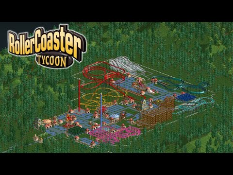 Roller Coaster Tycoon Classic: Forest Frontiers (Part 1