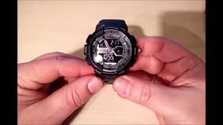 Sport Armbanduhr ( Stoppuhr,Timer,Wecker, LED Beleuchtung,Weltzeit)