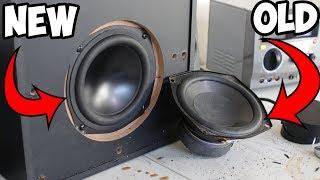 Logitech Subwoofer Replacement! (Dayton Audio)