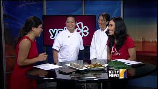 MW Restaurant team in studio for Hot on Yelp feature