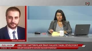 ABD'nin İran Yaptırımlarını MedyascopeTV'de Konuştuk