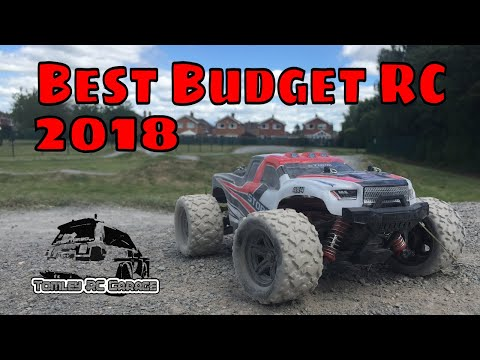 Best Budget RC Truck 2018!  1/18 Scale Monster Truck $40 From Banggood