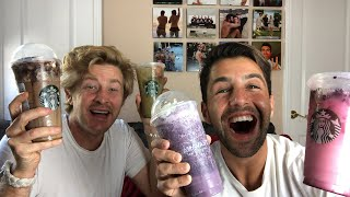 SECRET STARBUCKS MENU MUKBANG FT JASON NASH