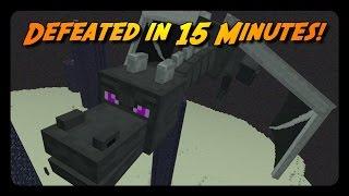 MINECRAFT SPEEDRUN In 15 MINUTES!