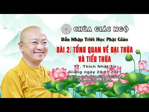 Tổng quan về Đại thừa và Tiểu thừa l Dẫn nhập Triết học Phật giáo
