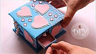 ШКАТУЛКА своими руками * Как сделать шкатулку * How to make casket * Legko&Prosto*