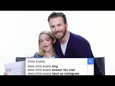 Chris Evans odpovídá na nejčastěji vyhledávané dotazy