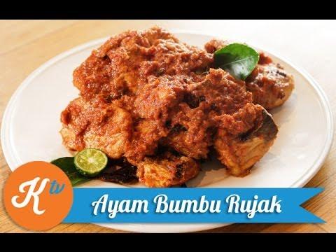 Video Resep Ayam Bumbu Rujak (Rojak Chicken Recipe Video) | RAY JANSON