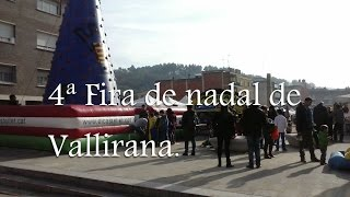 preview picture of video '4ª Fira de nadal de Vallirana'