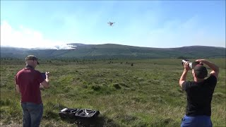 DJI Phantom 3 Advanced Memories - Test Flight Before Filming Gorse Fire