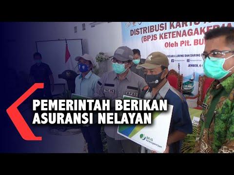 pemkab jember berikan kartu asuransi ke nelayan