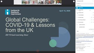 Global Challenges: COVID-19 & Lessons Learned from the UK