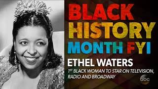 Black History Month FYI: Ethel Waters | The View | Kholo.pk