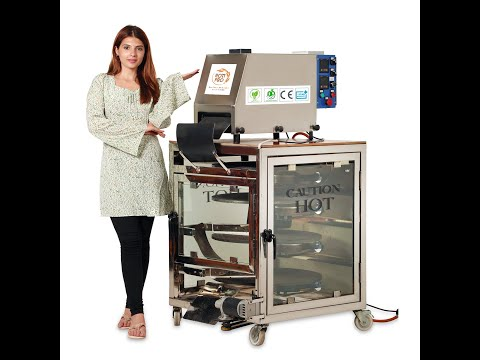 Fully Automatic Commercial Chapati Making Machine