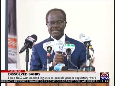Dissolved Banks - The Pulse on JoyNews (23-8-18)