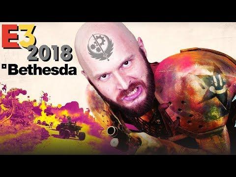 Конференция Bethesda на E3 2018: Fallout 76, TES VI, Rage 2 (видео)
