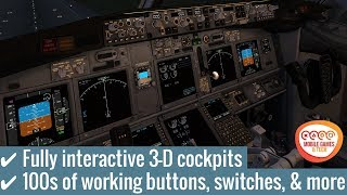 X Plane - 10 Flight Simulator Android iOS Gameplay