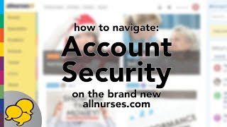 View the video Secure Your Account