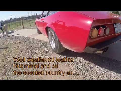 Rush Red Barchetta Lyrics and Cinematic Story with a real Ferrari 365GTC4, Model Delorean, and Volt