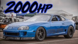 2000HP Toyota Supra  - Cleanest Race Supra's We've Ever Seen!