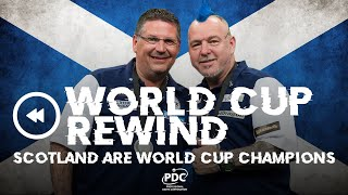 A FIRST FOR SCOTLAND! 2019 World Cup Of Darts Final