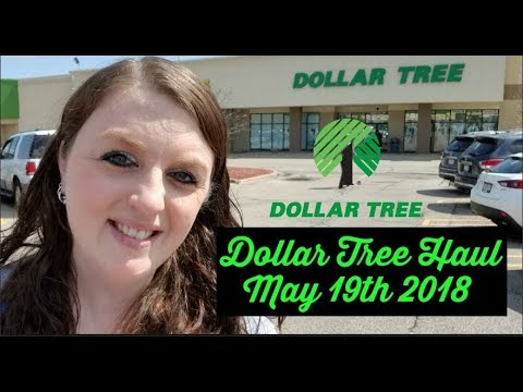 Dollar Tree Haul May 19th 2018