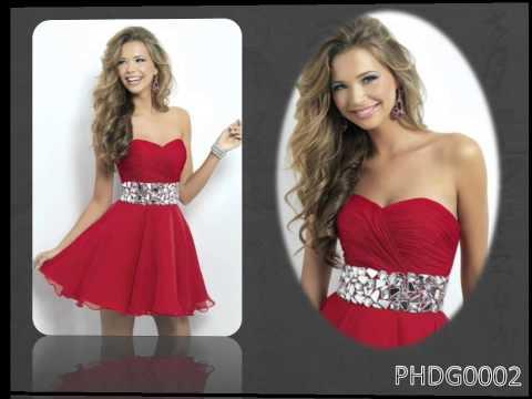 Sexy Rote Abendkleider Online