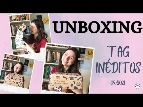 UNBOXING TAG INÉDITOS - 09/2021   Um mimo misterioso