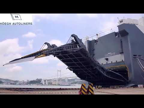 HOEGH LONDON - HOEGH AUTOLINERS vehicles carrier - binmei jp