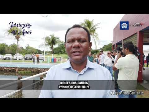 REVITALIZAÇÃO DO LAGO PEDRA CANTANTE EM JUSCIMEIRA