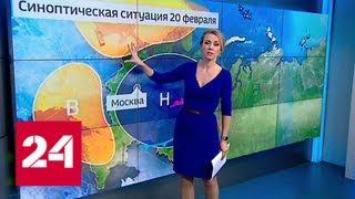 """""""Погода 24"""": Россию ждет арктическое вторжение - Россия 24"""