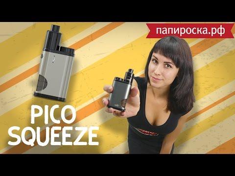 Eleaf Pico Squeeze + Coral RDA: полный комплект - видео 1