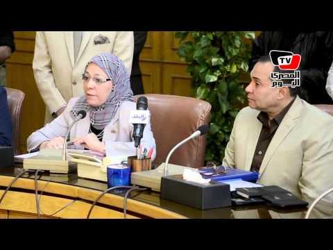 زيارة وزيرة القوى العاملة لمشروع قناة السويس الجديدة