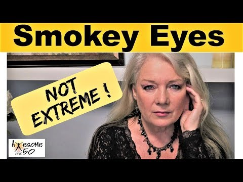 Smokey Eye Makeup For Mature, Hooded, Over 50 Eyes