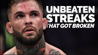 10 Remarkable Undefeated Records That Got Broken In The UFC