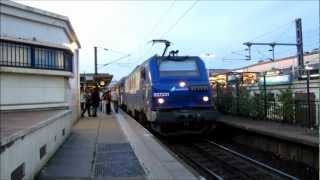 preview picture of video '[Paris] BB27300 PUCA - Argenteuil (Ligne J Transilien)'