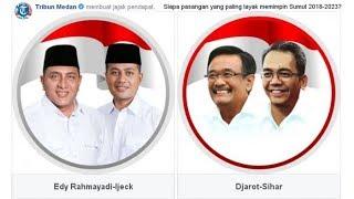 Hasil Quick Count 3 Lembaga Survei Pilkada Sumatera Utara: Edy Rahmayadi-Musa Rajeckshah Unggul