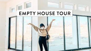 EMPTY HOUSE TOUR 2021   Modern New Build Construction   Miss Louie