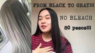 DIY HAIR COLOR | NO BLEACH | PHILIPPINES
