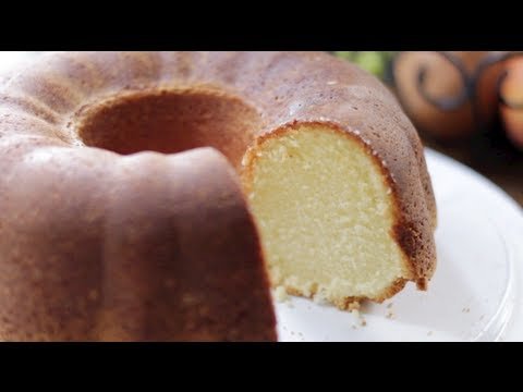 Video Whipping Cream Pound Cake Recipe